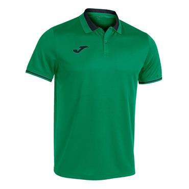 Joma Championship VI Polo Shirt - Green/Black