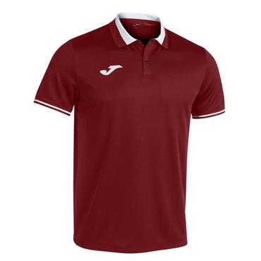 Joma Championship VI Polo Shirt - Burgandy