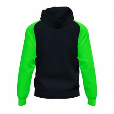 Joma Academy IV Full Zip Hoodie - Black/Green