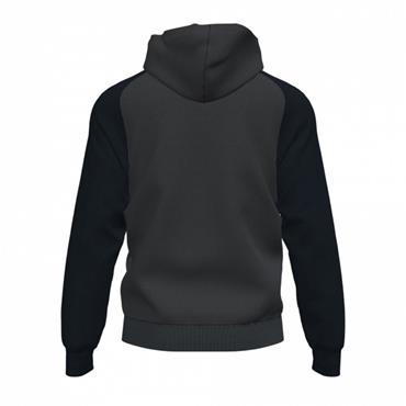 Joma Academy IV Full Zip Hoodie - Grey/Black