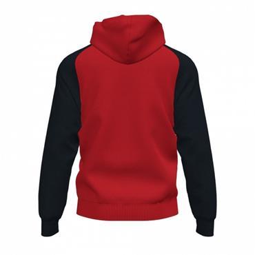 Joma Academy IV Full Zip Hoodie - Red/Black