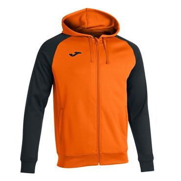 Joma Academy IV Full Zip Hoodie - Orange/Black