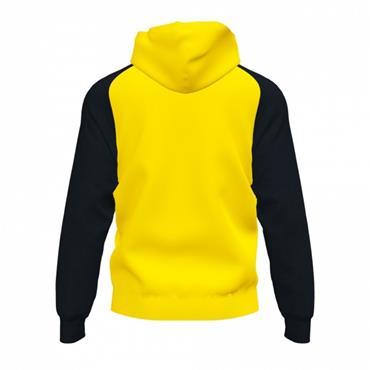 Joma Academy IV Full Zip Hoodie - Yellow/Black
