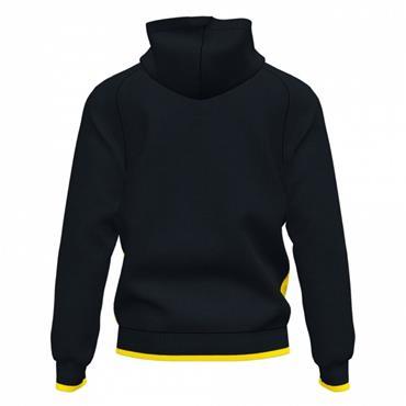 Joma Supernova III Full Zip Hoodie - Black/Yellow
