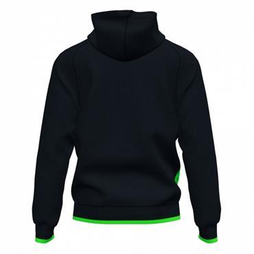 Joma Supernova III Full Zip Hoodie - Black/Green
