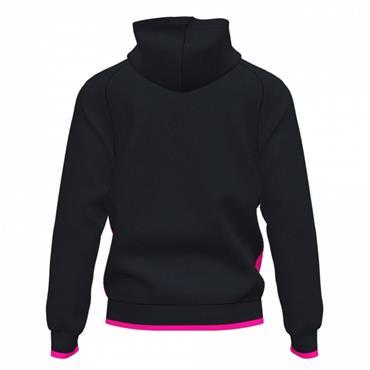 Joma Supernova III Full Zip Hoodie - Black/Pink