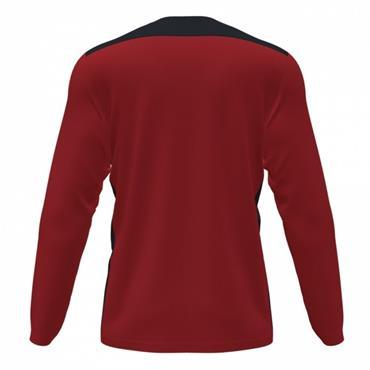 Joma Championship VI Long Sleeve Jersey - Red/Black