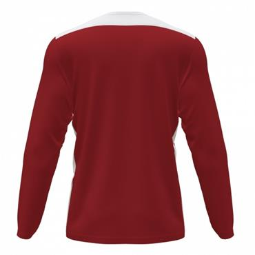 Joma Championship VI Long Sleeve Jersey - Red/White