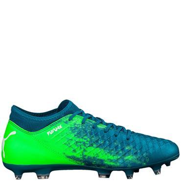 PUMA FUTURE 18.4 FG FOOTBALL BOOTS - GREEN