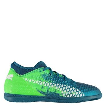 PUMA KIDS FUTURE 18.4 TF SHOES - Blue/Green