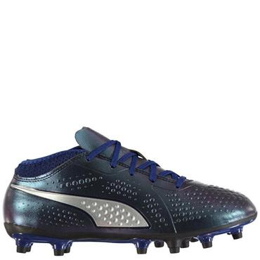 PUMA Adults One 4 FG Football Boots - Blue