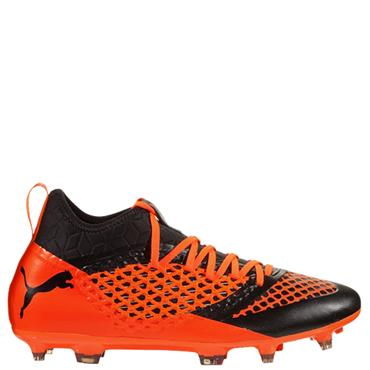 PUMA Adults 2.0 Netfit FG Football Boots - Black/Orange
