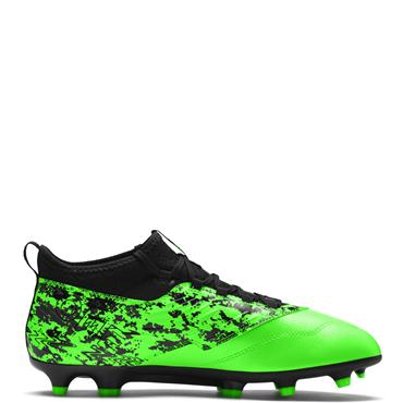 PUMA Adults One 19.3 SYN FG/AG Football Boots - Green/Black