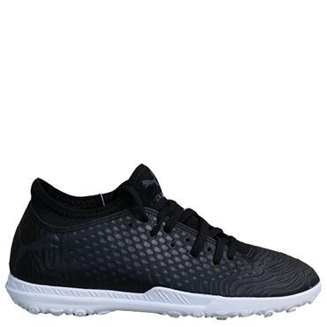 PUMA Kids Future 19.4 Astro Turf Shoe - Black/White