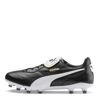 PUMA Adults King Top Firm Ground Football Boots - BLACK