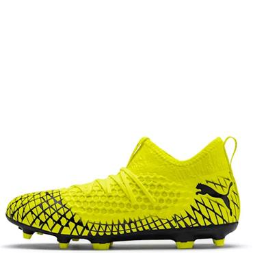 PUMA Adults Future 4.3 Netfit Firm Ground Football Boots - Yellow
