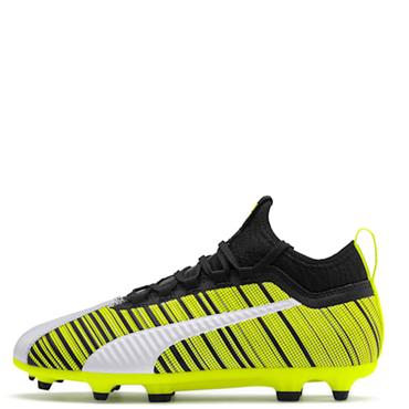 PUMA Kids One 5.3 FG/AG Football Boots - Yellow