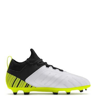 PUMA Kids One 5.3 FG/AG Football Boots - Yellow