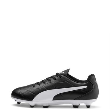 Puma Kids Monarch FG Football Boots - BLACK