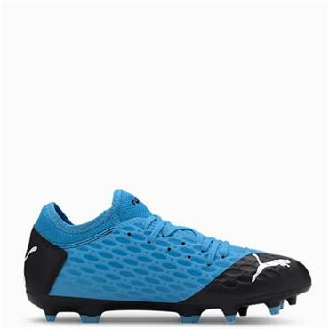 PUMA Kids Future 5.4 FG/AG Football Boots - Blue