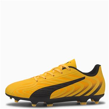 PUMA Kids One 20.4 FG Football Boots - Yellow