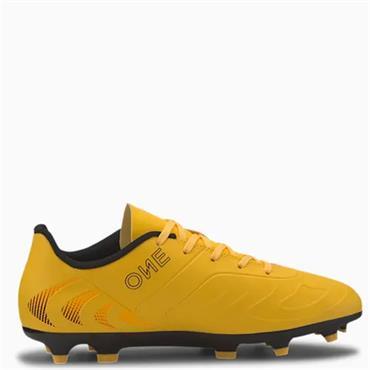 PUMA Kids One 20.4 FG Football Boots - Yellow