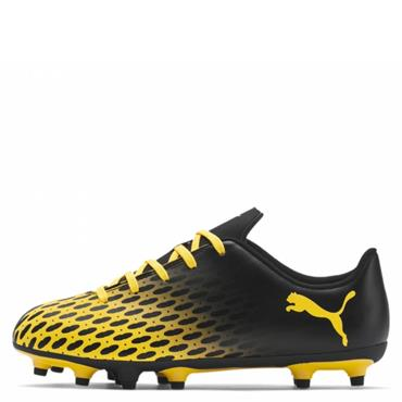 Puma Kids Spirit FG Football Boot - BLACK