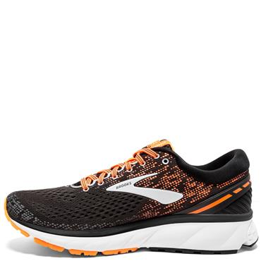 BROOKS MENS GHOST 11 - BLACK/ORANGE