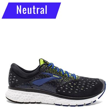 BROOKS MENS GLYCERIN 16 - BLACK/LIME