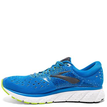 BROOKS MENS GLYCERIN 16 - BLUE/YELLOW
