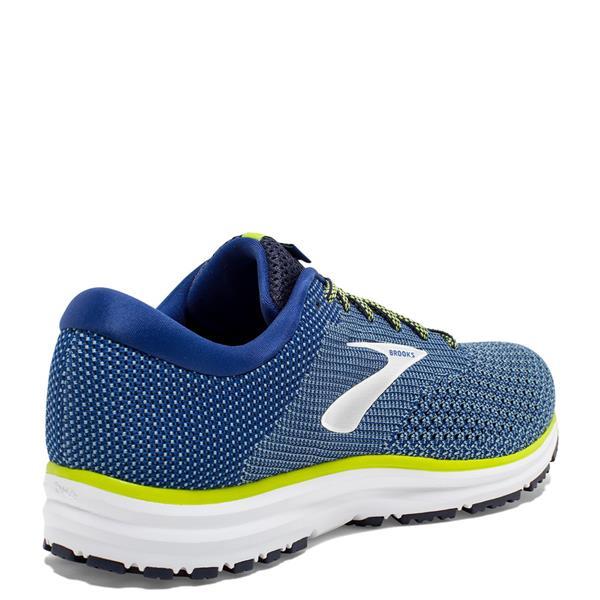 Brooks Mens Revel 2 Running Shoes Blue White Michael