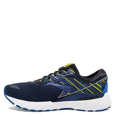 BROOKS MENS ADRENALINE GTS 19 - BLACK/BLUE