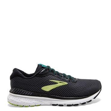 Brooks Mens Adrenaline GTS 20 Running Shoe - BLACK