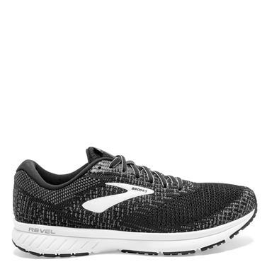 Brooks Mens Revel 3 Running Shoe - BLACK