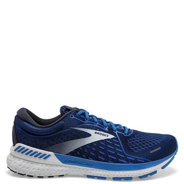 Brooks Mens Adrenaline GTS 21 Running Shoe - Navy