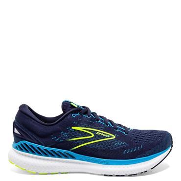 Brooks Mens Glycerin GTS 19 Running Shoe - Navy
