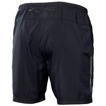 ASICS MENS 2 IN 1 WOVEN SHORT - BLACK