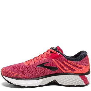 BROOKS WOMENS ADRENALINE GTS 18 - CORAL/PINK