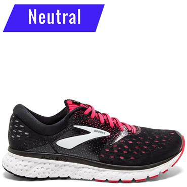 BROOKS WOMENS GLYCERIN 16 - BLACK/PINK