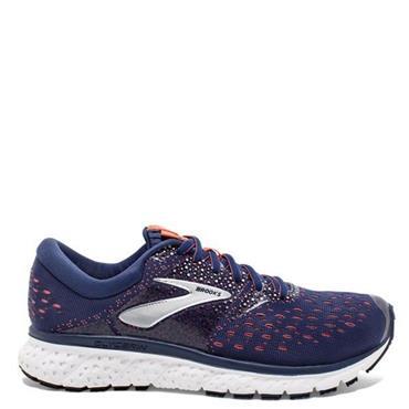 Brooks Womens Glycerin 16 Running Shoes - Navy/Orange