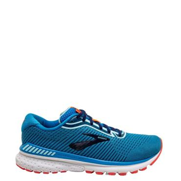 Brooks Womens Adrenaline GTS 20 Running Shoe - Blue