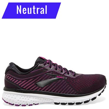 Brooks Womens Ghost 12 Running Shoe - Purple