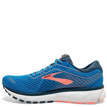 Brooks Womens Ghost 12 Running Shoe - Blue