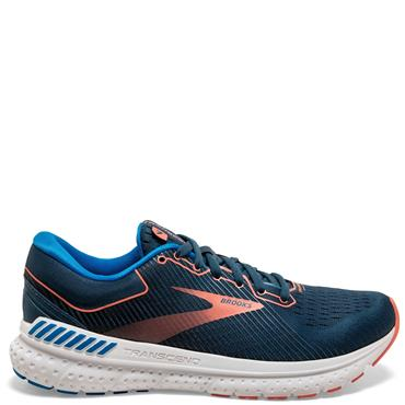 Brooks Womens Transcend 7 Running Shoes - Navy