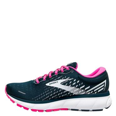 Brooks Womens Ghost 13 Running Shoes - Navy