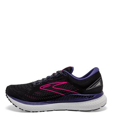 Brooks Womens Glycerin GTS 19 Running Shoe - BLACK