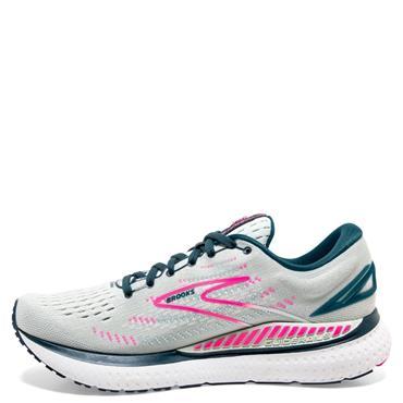 Brooks Womens Glycerin GTS 19 Running Shoe - Grey