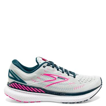 Brooks Womens Glycerin GTS 19 Running Shoe - Grey