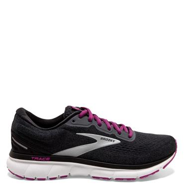 Brooks Womens Trace Running Shoes - BLACK