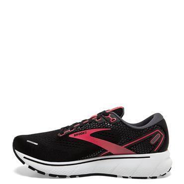 Brooks Womens Ghost 14 Running Shoe - BLACK